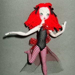 Tiny Red Dancer
