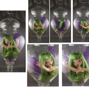 Fairy Specimen in Green montage