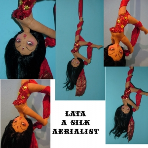 Lata, the Silk Aerialist