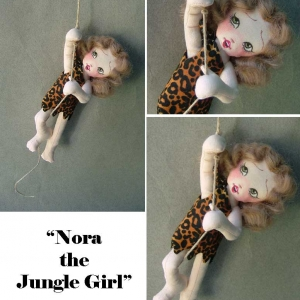 Nora the Jungle Girl, tiny size
