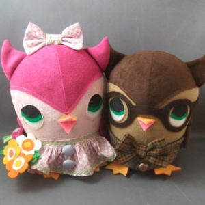 Plush You, Owl Couple